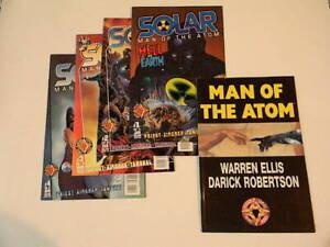 SOLAR MAN OF THE ATOM LOT: 1 (1997) + 1 2 3 4 (1998) / Acclaim Valiant + BONUS!