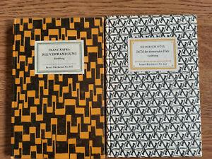 2 x  IB  Nr. 647 und 662  H. Böll / F. Kafka