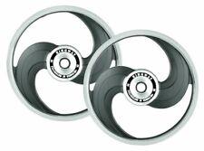New Black Alloy Wheel Rim 2 Spoke Set For Royal Classic Motorcycle ECs