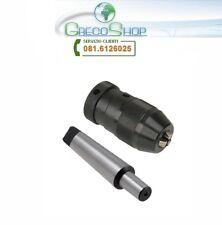 Mandrino per Tornio/Trapano a colonna 3-16mm attacco B18 + adattatore MT3-B18