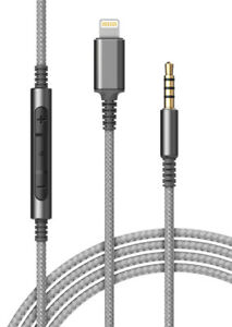 iPhone Adapter Headphone Cable With Mic | Lightning Connector to 3.5mm Aux Cord