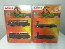2pcs SUIT HO 1:87 MODEL Lima HORNBY 2 wagons & garitta floor for the frenatore
