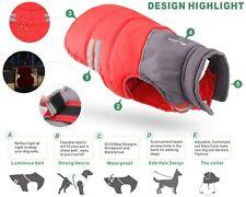 Pet Dog Vest Jacket Warm Waterproof Clothes Winter Padded Coat Small /Medium.