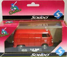 "Solido 1:43 SixtiesVW BUS Transporter FIRE DEPT ""FRANKFURT AM"