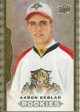 2014 UPPER DECK MASTERPIECES AARON EKBLAD GOLD-BORDERED ROOKIE CARD PANTHERS