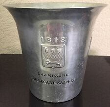 BILLECART SALMON CHAMPAGNE COOLER BUCKET VINTAGE  MADE BY ARGIT RARE ITEM USED