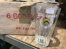 Ginder ale glas verre glass old