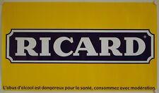 Affiche RICARD - 117 x 67 cm - modèle jaune