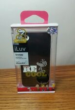 """ILuv Hardshellcase Case iPhone 4/4s Peanuts Snoopy """"Be Cool"""" NEW"""