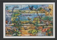 Georgia - 1996, Prehistoric Animals sheetlet - MNH - SG 197/205