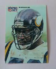 AMERICAN FOOTBALL CARD PRO SET 1991 # 391 ALL NFC TEAM CHRIS DOLEMAN DE VIKINGS