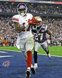 2007 Super Bowl Giants Plaxico Burress touchdown 8x10 11x14 16x20  photo 333