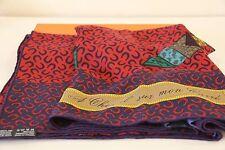 Auth. Hermes A Cheval sur mon carré cashmere/silk shawl 140cm