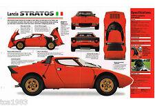 1973 / 1974 / 1975 LANCIA STRATOS IMP Brochure