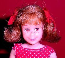 Vintage Mod 1967 Titian Redhead Pink Skin Bendable Leg Skooter Skipper Barbie