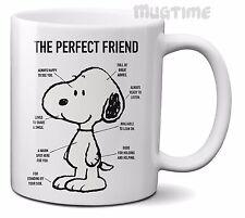 Peanuts-Snoopy-Parfait ami-Café Thé Tasse-Céramique-Cadeau - 330 ml