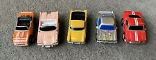 Galoob Micro Machines Vintage lot of 5 Classic Cars Convertibles