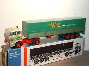 Daf 3300 De Wilde Transporten Monster - Lion Car Holland 1:50 in Box *34977