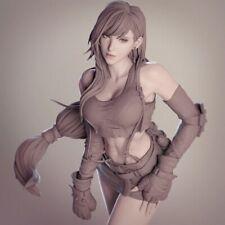 1/24 75mm Resin Figure Model Kit Sexy Girl Final Fantasy VII Tifa Unpainted