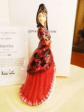 Royal Doulton 100 Years Hn Icons Mantilla Figurine Hn5653 Limited Edition - New!