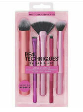 REAL TECHNIQUE BY SAM & NIC ARTIST ESSENTIALS 5 BRUSHES FOR FACE EYE LIP CHEEKS