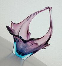 exklusive alte Murano Glas Schale Obst Schale Zipfelglas Sammlerglas 60er Jahre