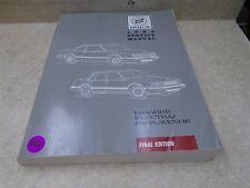 Buick LeSabre Electra Park Avenue Used Service Manual VP 1989 VP-CM380
