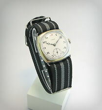 WW1 military Trench watch  LENGA  /Rosskopf/  Porcelain..Case number..Swiss.