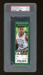 2017 TICKET STUB Phoenix Suns DEVIN BOOKER 70 POINT 03/24/2017 March 24 PSA 8