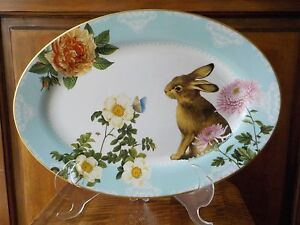 Williams Sonoma Spring Garden Platter - New!