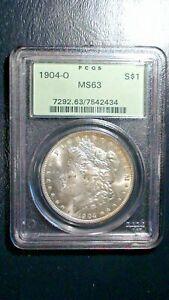 1904 O Morgan Silver Dollar NGC MS63 OGH UNCIRCULATED $1 COIN Starts At 99 Cents