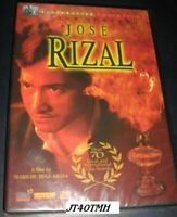 JOSE RIZAL CEZAR MONTANO TAGALOG original ALL REGION dvd MOVIE FILIPINO SEALED
