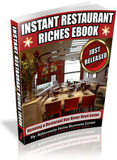 INSTANT RESTAURANT RICHES EBOOK PDF EBOOK FREE SHIPPING RESALE RIGHTS