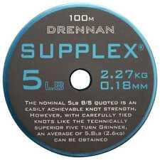 Drennan Supplex Fishing Line 100m 8lb 0.23