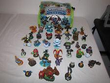 Skylanders Figures 38 Different ones with Skylanders Carrying Bag