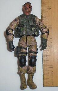 1/18  ACTION FIGURE Bravo Team     US Army Ranger / Marine Recon   Desert Camo