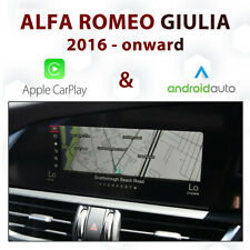 Alfa Romeo 952 Giulia APIX iDrive - Apple CarPlay & Android Auto Integration