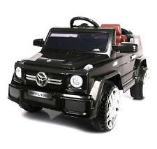 Kinder Elektroauto GL 12 V Schwarz Elektrisches Kinderfahrzeug mit Fernbedienung
