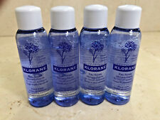 Klorane Floral Water Make-up Remover 3.2oz (4 TRAVEL SIZE BOTTLES x .8oz EACH)