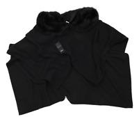 F&F Womens One Size Black Wrap Jacket