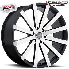 "Velocity VW12B V12B Black Machined 22""x9 Custom Wheel (ONE Rim) FREE Ship"