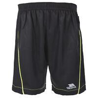 Trespass Bandit Boys Active Black Summer Football Gym Sports Shorts