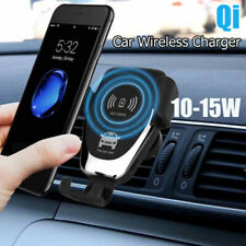 Qi Wireless Car Phone Charger Magnetic Air Vent Mount Holder For Samsung