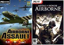 Assaut aéroporté & medal of honor airborne