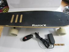 "Razor X Cruiser Electric Motorized Skateboard 29.7"" Deck"