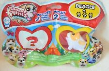 Chubby Puppies & Friends BEAGLE DOG 2 Pack Series 1 *NEW*