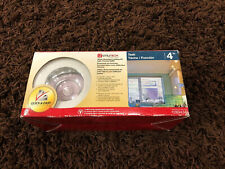 "Utilitech 4"" MR 16 Recessed Task Low Voltage Lighting Kit W/Chrome Baffle 289434"
