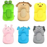 Cartoon Portable Baby Non-Slip Bath Tub Newborn Air Cushion Bed Shower Pad