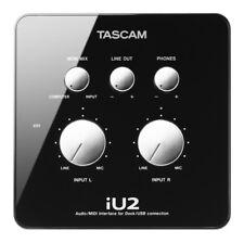 Tascam iU2 Audio/MIDI Interface for Dock/USB for ipod, iphone, ipad