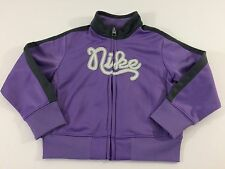 Nike 24 month Size Purple Zip Up Lightweight Jacket